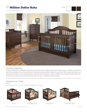 sleigh bed crib instructions