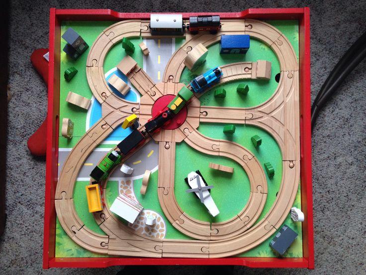 thomas train table instructions
