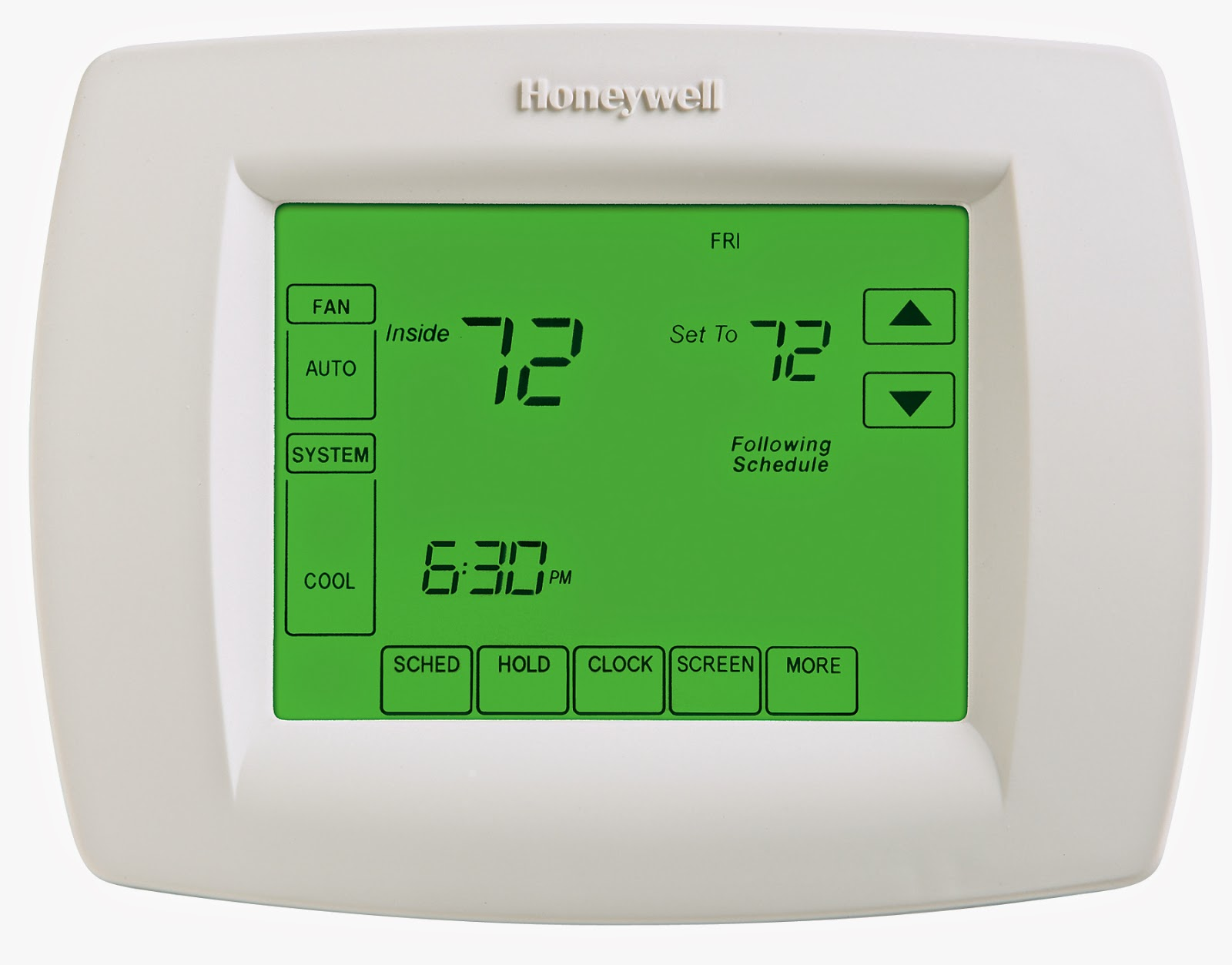 honeywell thermostat setup instructions