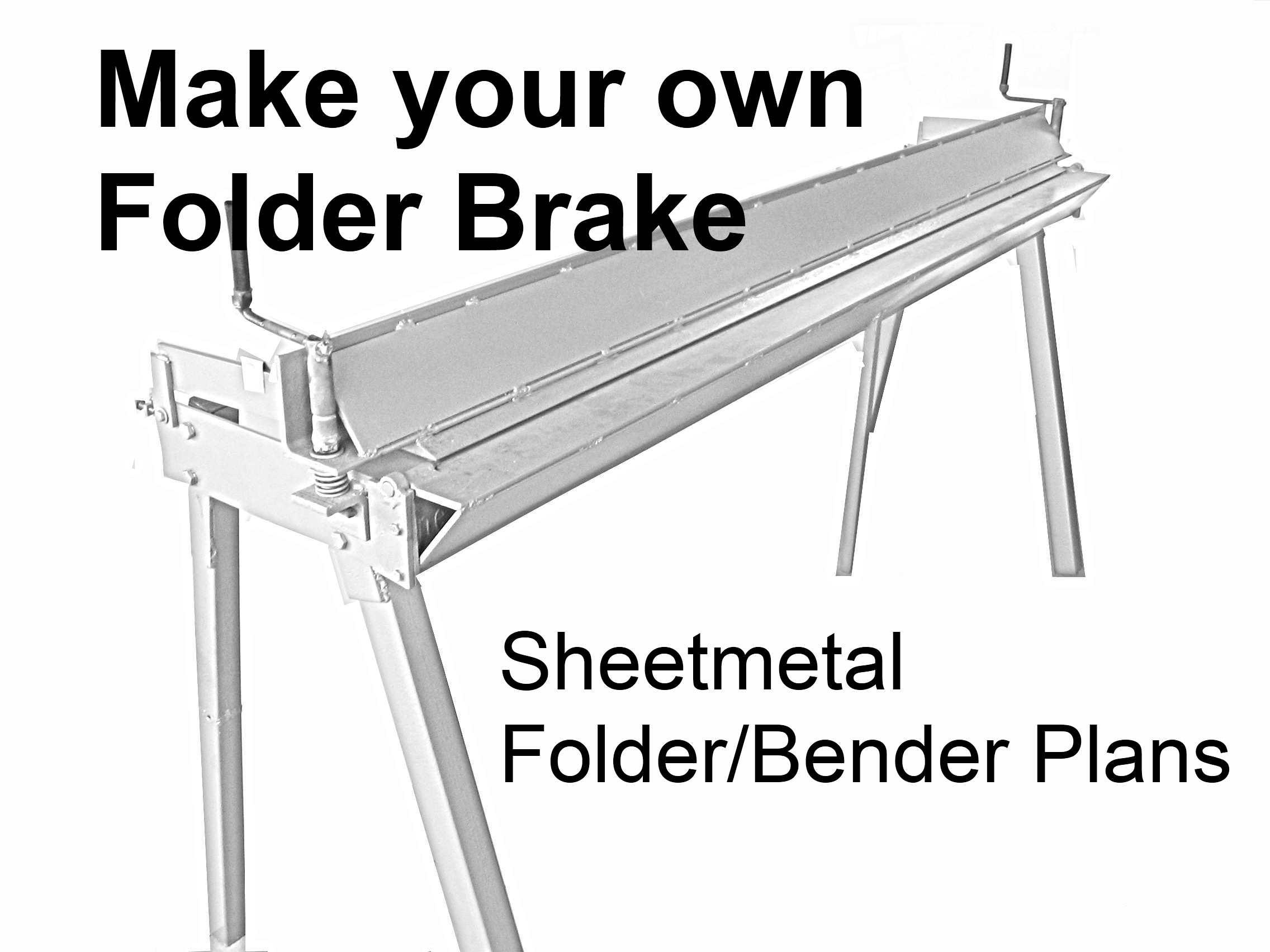 aluminum brake bending instructions