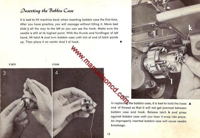 pfaff sewing machine instruction manual