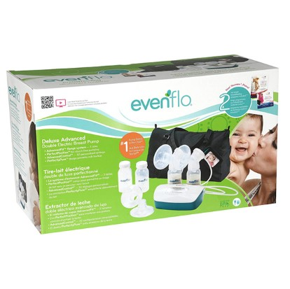 evenflo double electric breast pump instructions