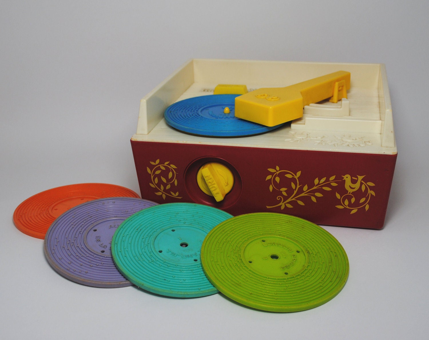 fisher price record player instructions
