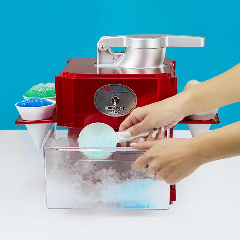 professional slushie maker machine instructions