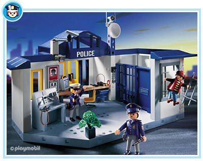 playmobil police station 3165 instructions