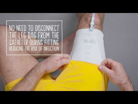 urinary leg bag instructions