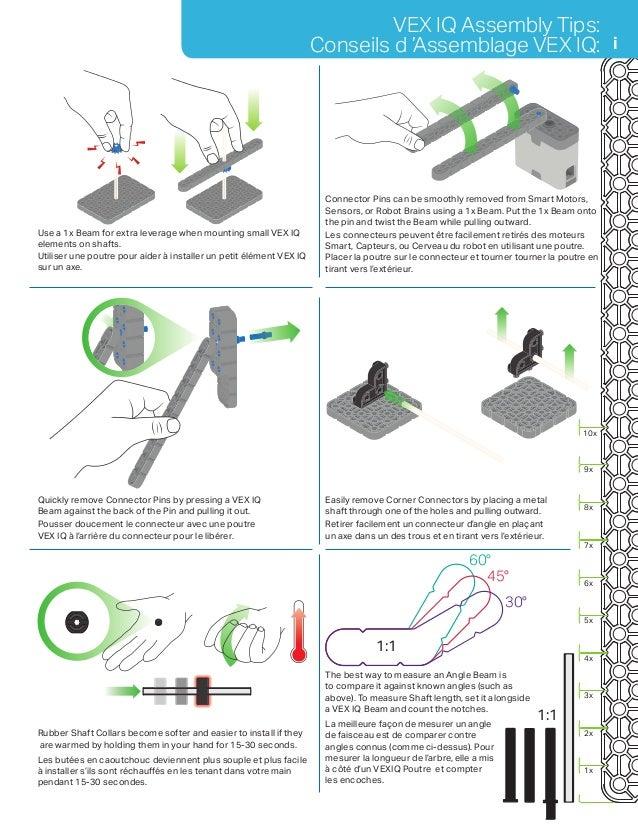 vex iq clawbot instructions pdf