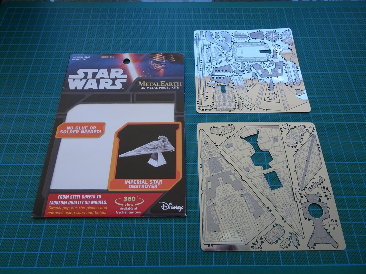 metal earth star wars instructions