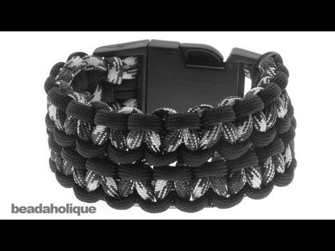 550 paracord bracelet instructions