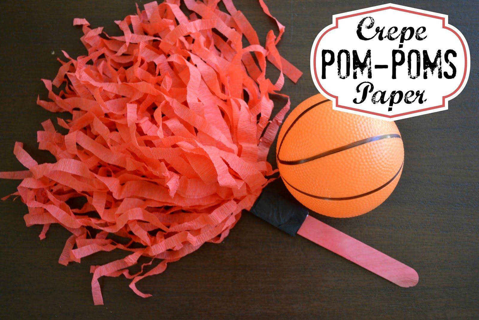 cardboard pom pom maker instructions
