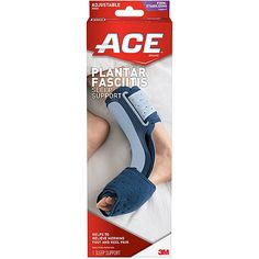 ace plantar fasciitis sleep support instructions