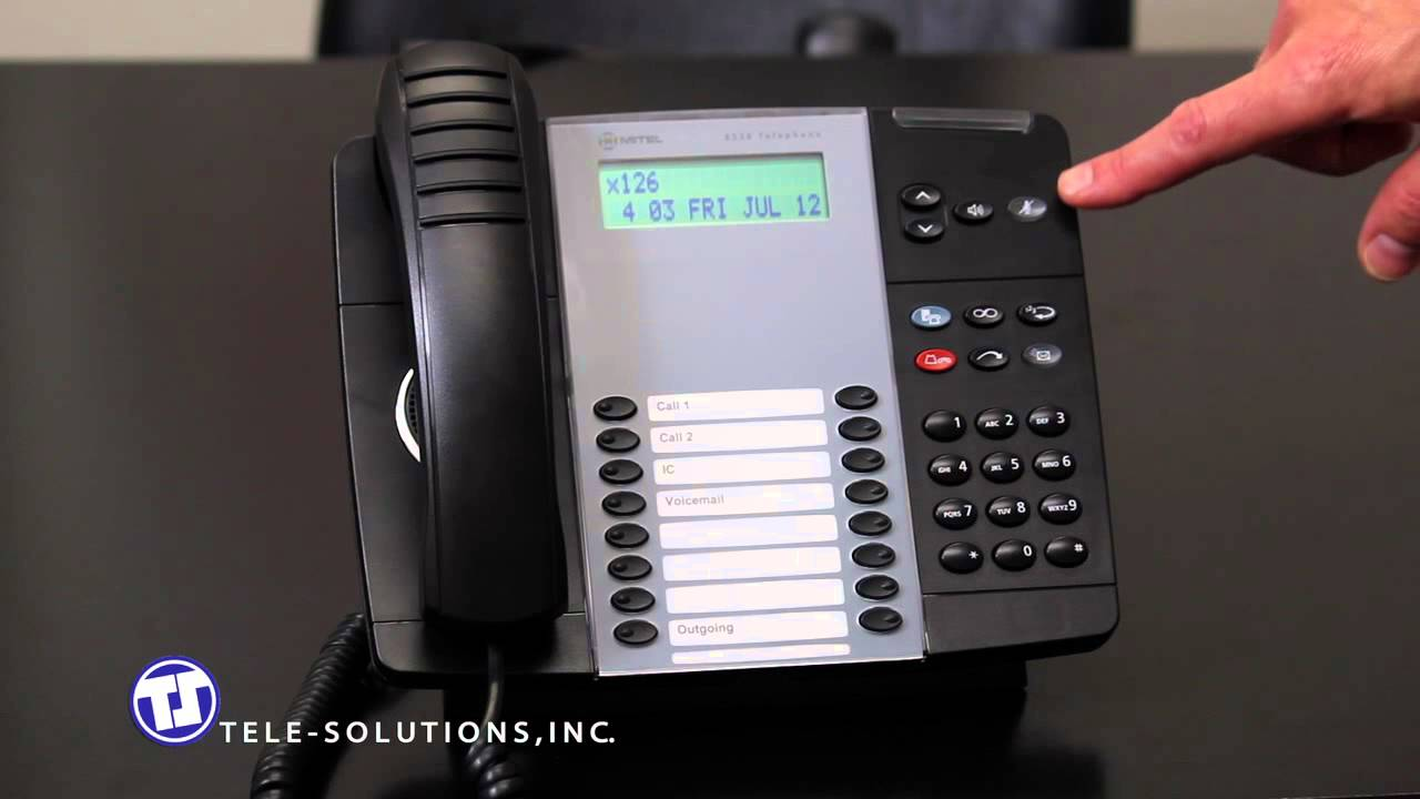 mitel 5320 ip phone voicemail instructions