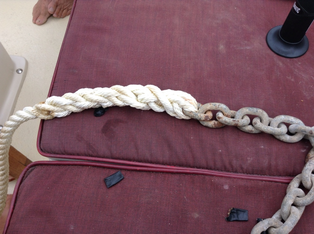 rope to chain splice instructions