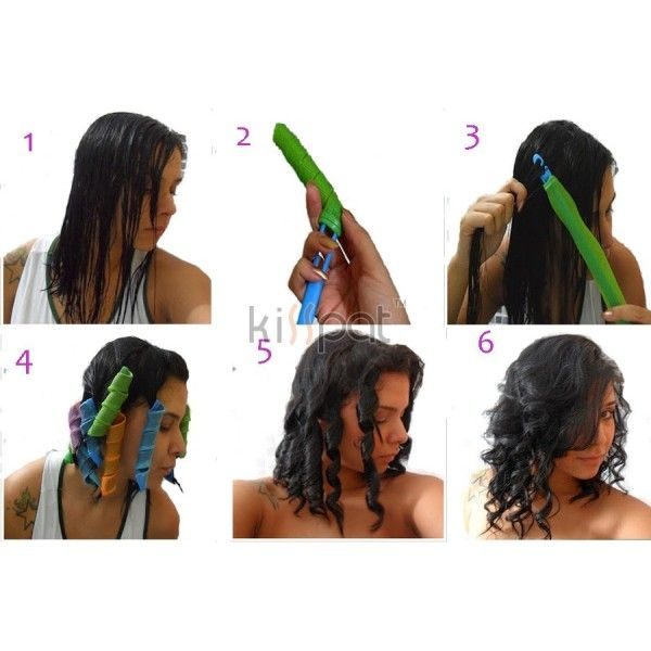 magic hair curlers instructions