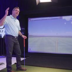 left handed golf swing instruction