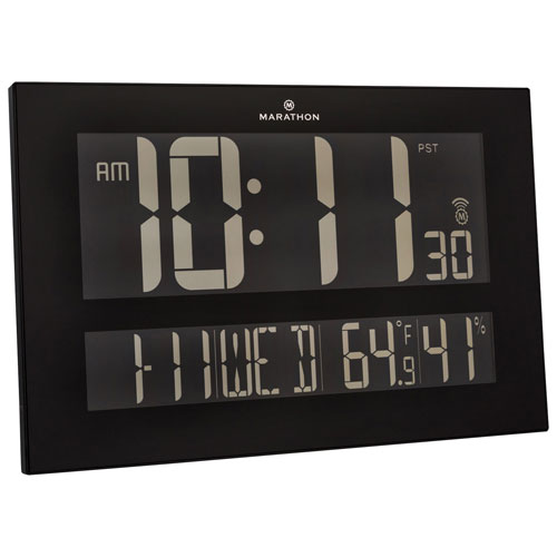 marathon atomic clock instructions
