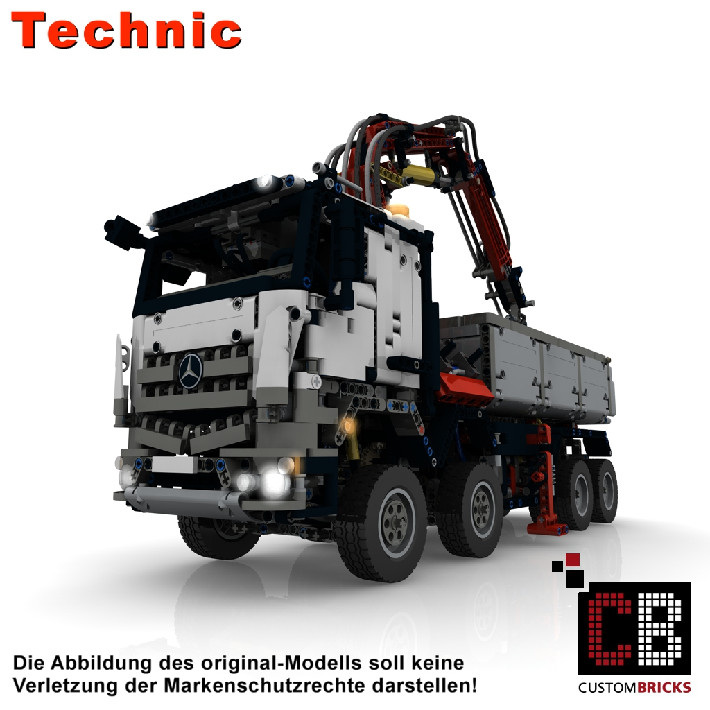 lego technic moc instructions