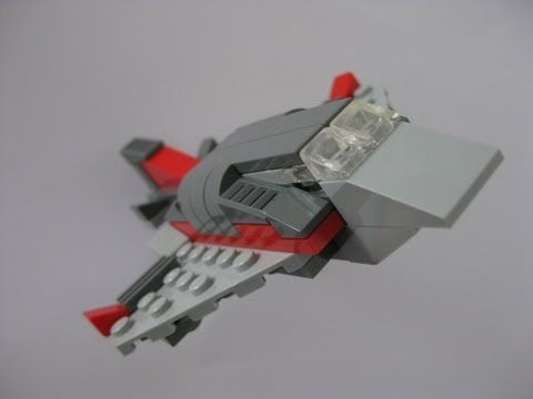 lego fighter jet instructions