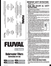 fluval u3 filter instructions