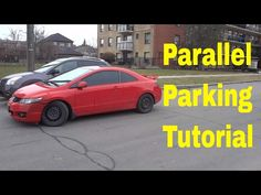 instructions for parallel parking in steps