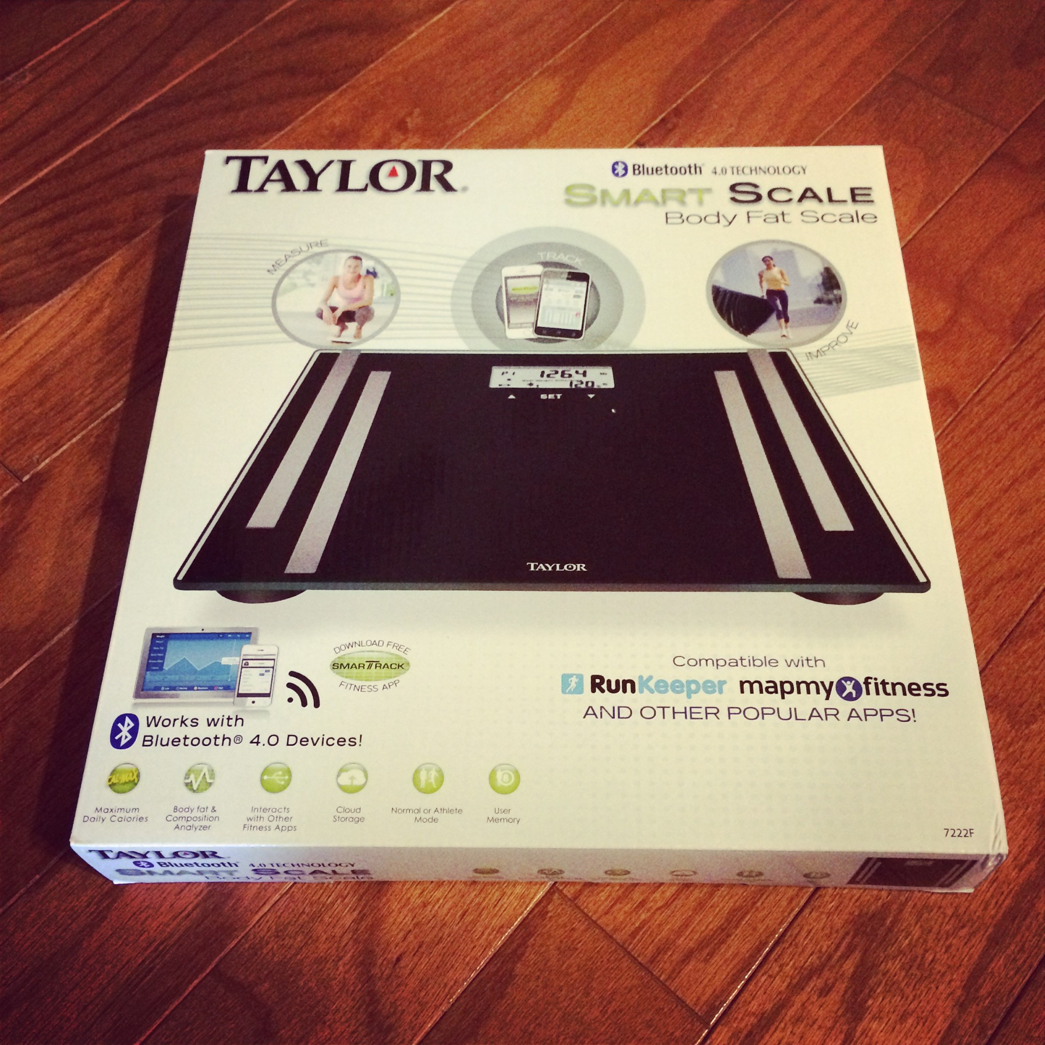 taylor smart scale instructions