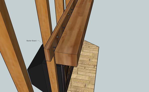 mantel mount installation instructions