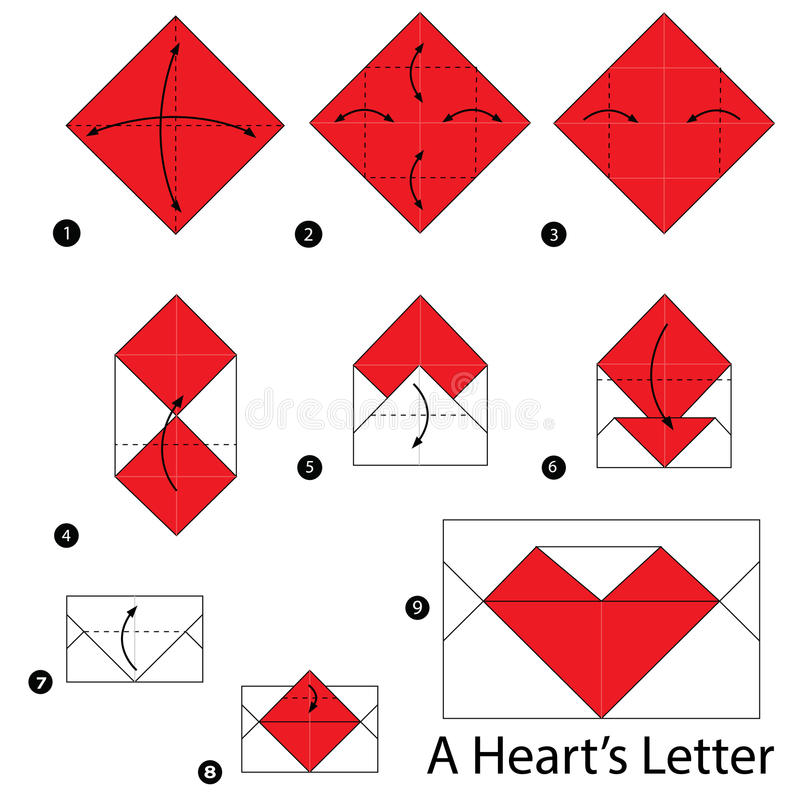 origami heart box instructions step by step