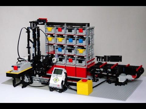 lego technic robot instructions