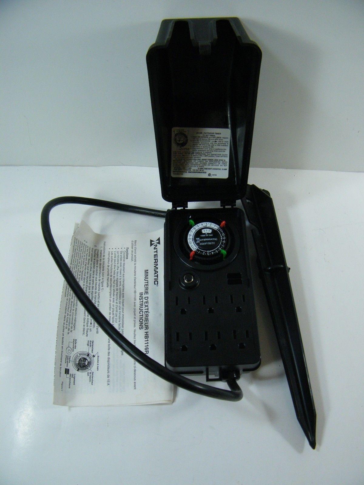noma outdoor timer instruction manual