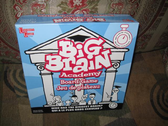 big brain academy board game instructions