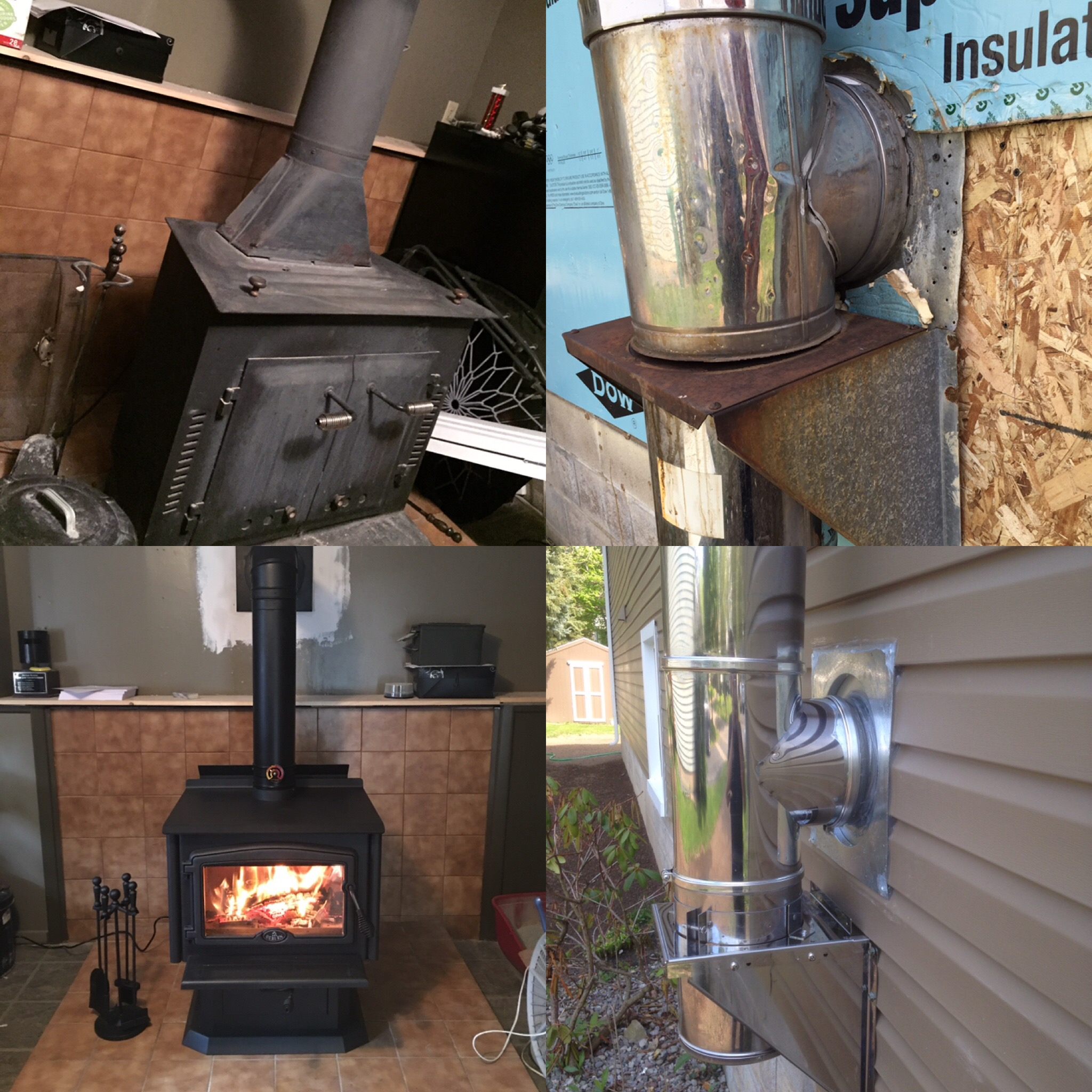 electric fireplace insert installation instructions