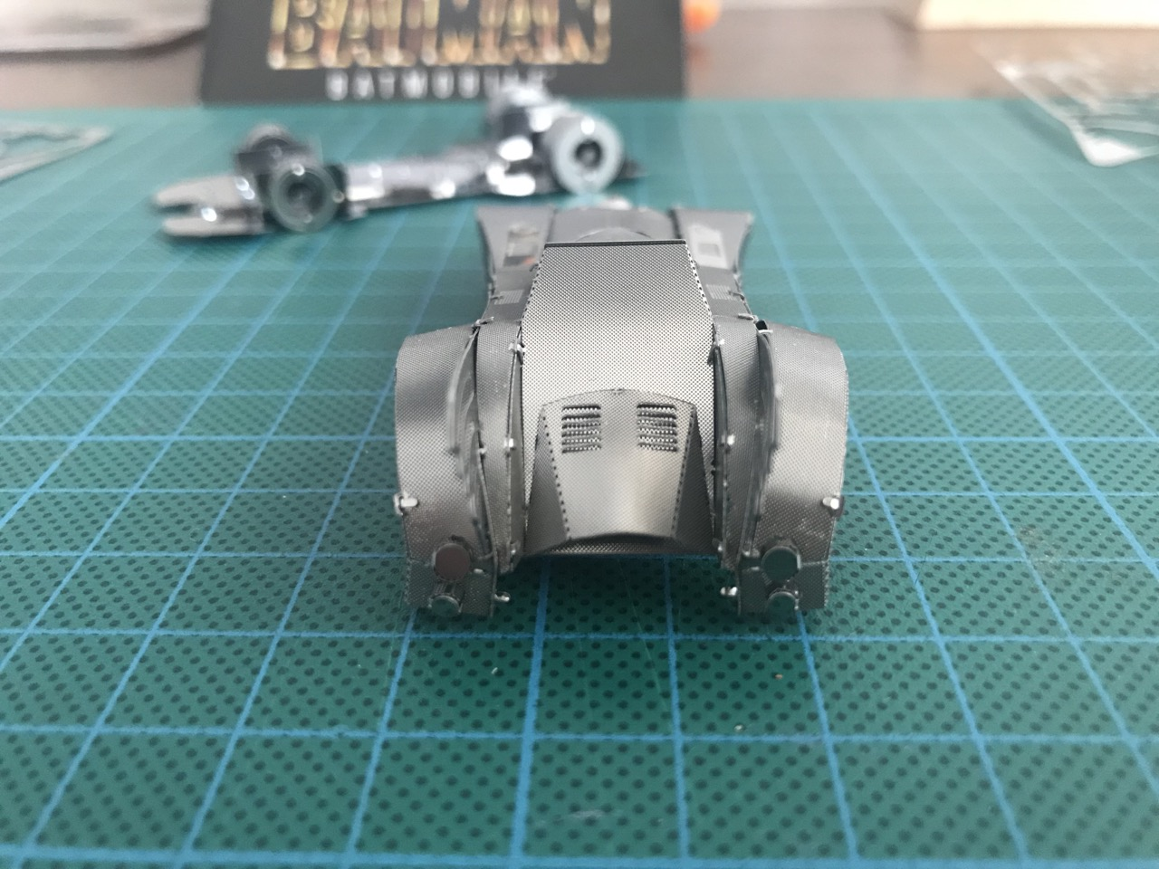 metal earth batmobile instructions