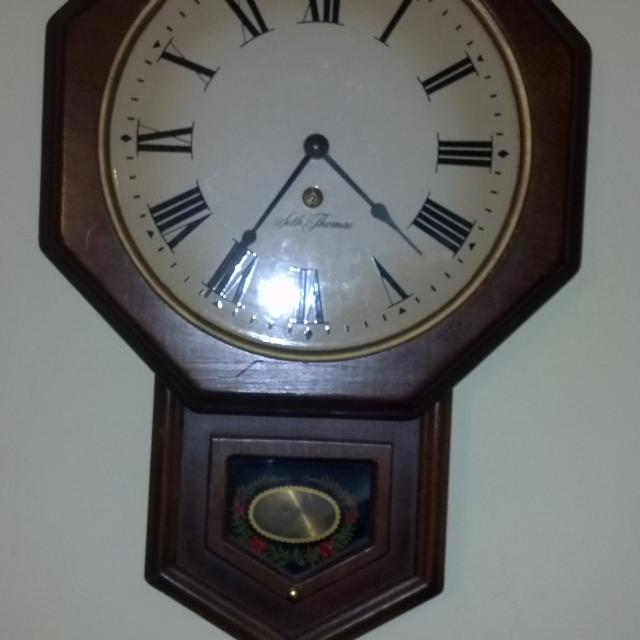 seth thomas wall clock instructions