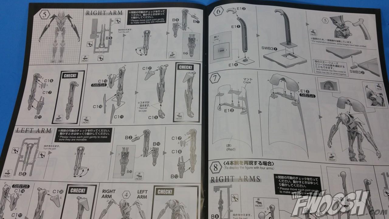 model kit instructions online