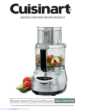 cuisinart food processor assembly instructions