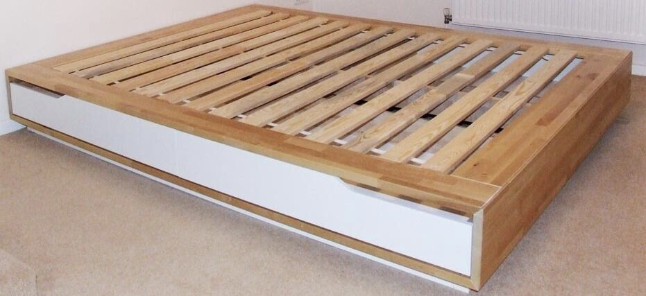 ikea white bed frame instructions