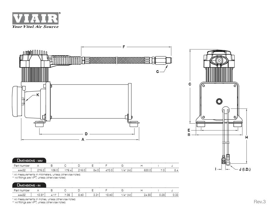 audew air horn installation instructions