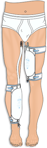 catheter leg strap instructions