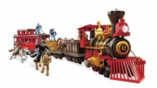mega bloks train instructions