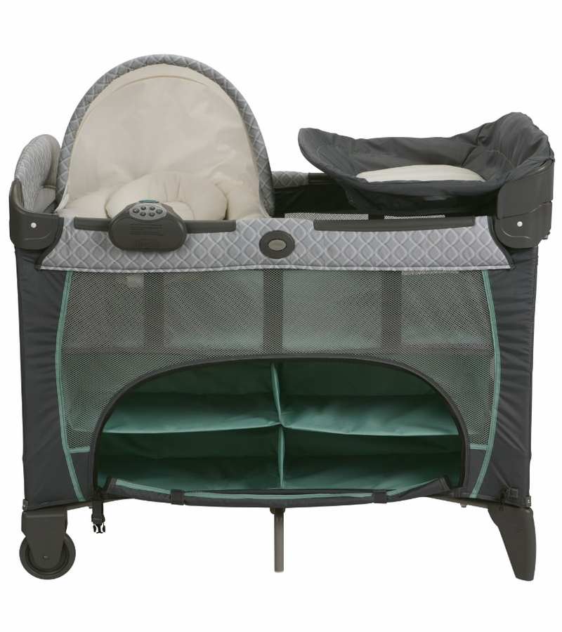 graco pack and play instructions with newborn napper
