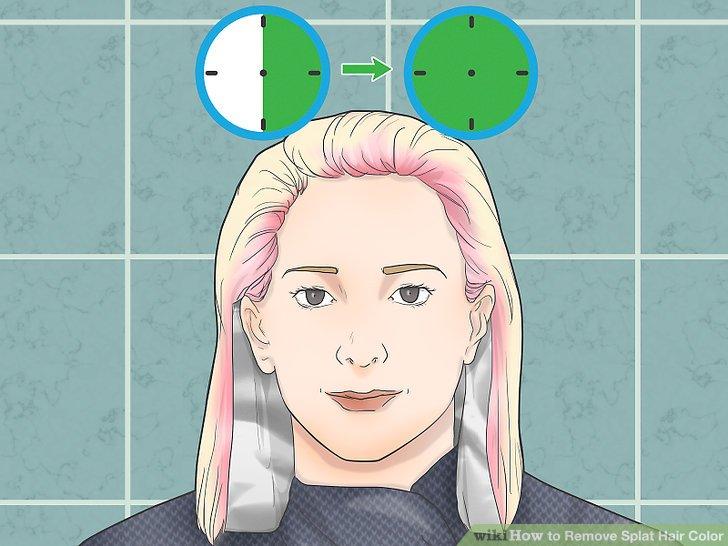splat hair bleach instructions