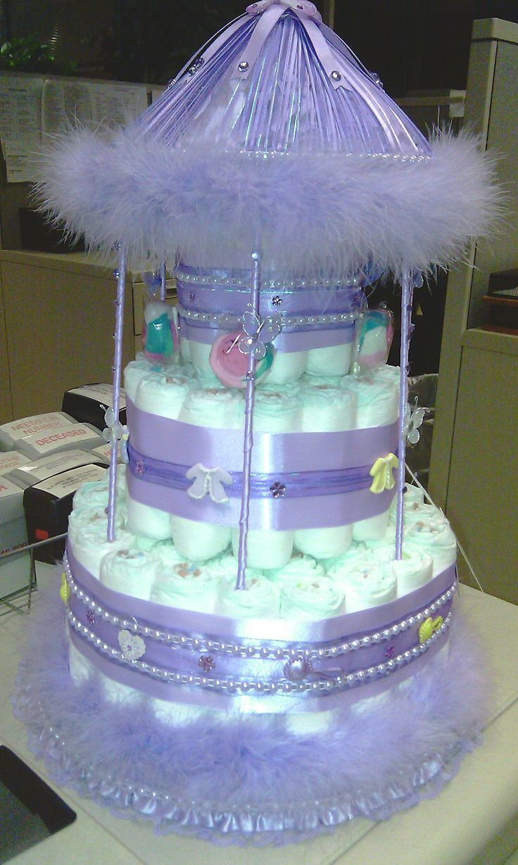 diaper cake instructions with pictures