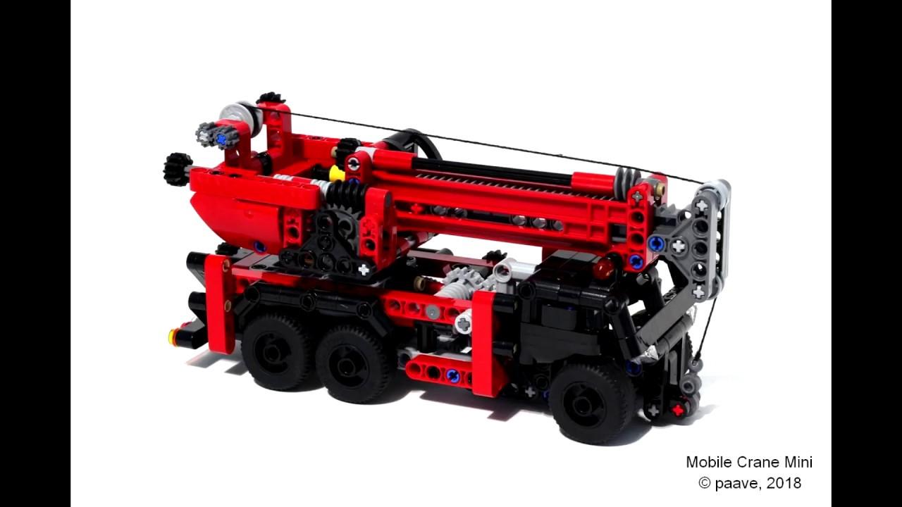lego mobile crane instructions