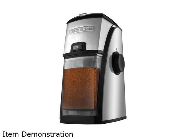 black and decker coffee grinder instructions