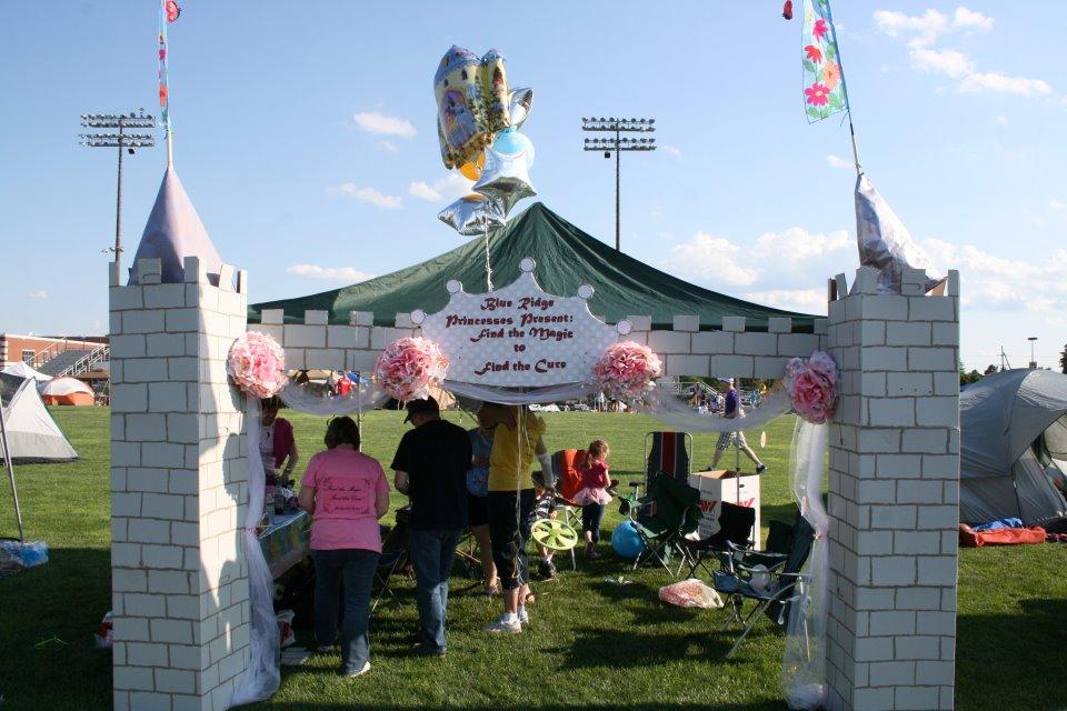 disney princess tent instructions