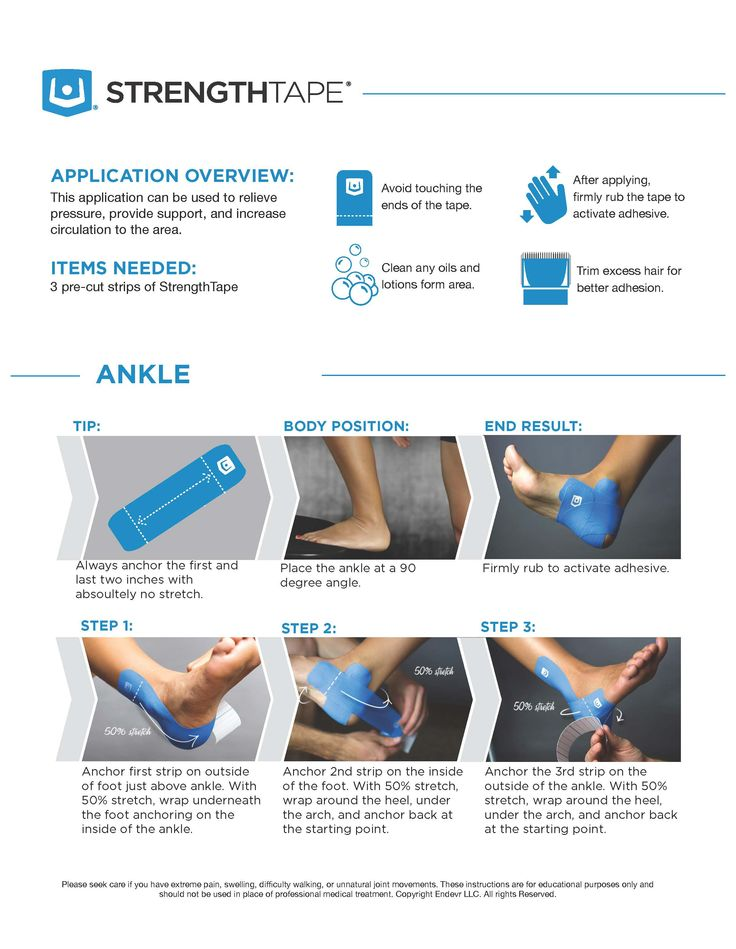turf toe taping instructions