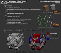 cyberman voice changer helmet instructions