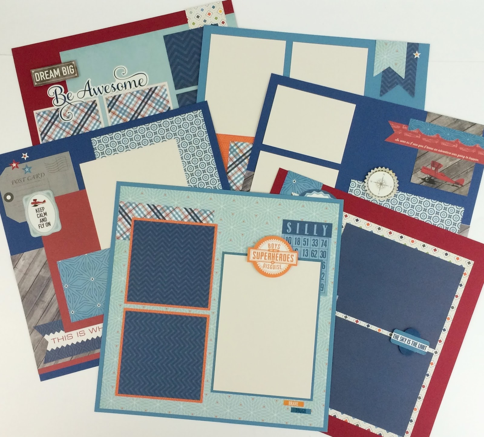 scrapbook kits with instructions