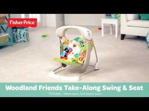 fisher price rose chandelier swing instructions