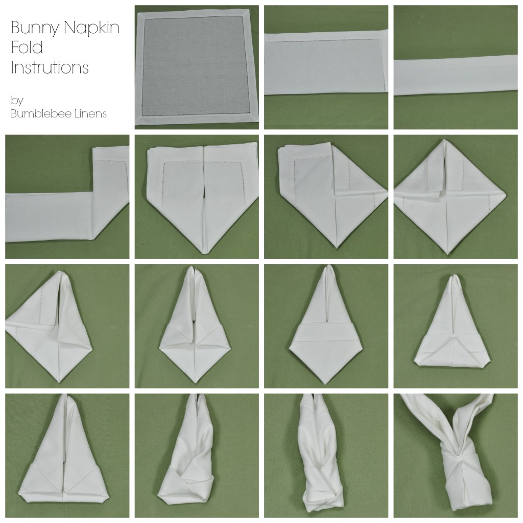 simple napkin folding instructions